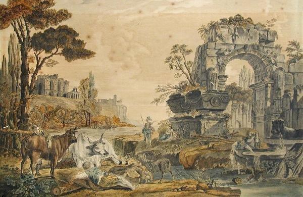 394: W THOMPSON (ENGLISH, 19TH CENTURY)