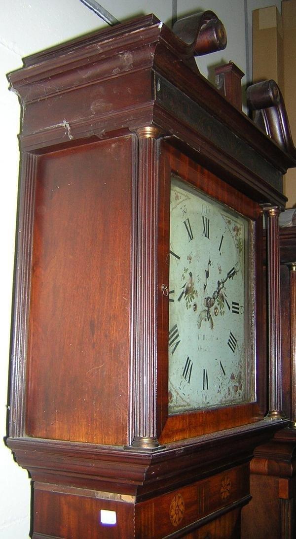 655: JOHN WIGNALL, ORMSKIRK, A MAHOGANY LONGCASE CLOCK - 2