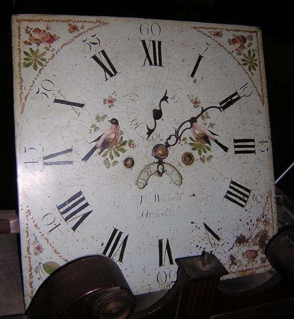 655: JOHN WIGNALL, ORMSKIRK, A MAHOGANY LONGCASE CLOCK - 5