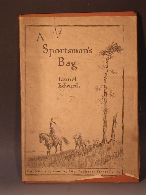 1013: EDWARDS(L) A SPORTSMANS BAG, LTD EDN 477/650 DW