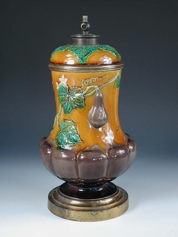 7: A MINTON OIL/GAS LAMP