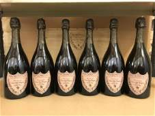 Dom Perignon Rose champagne 1982, six bottles in owc,