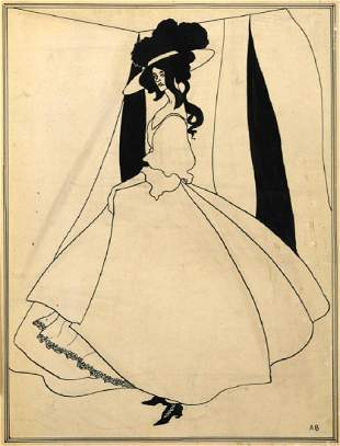 Attributed to Aubrey Beardsley (British, 1872-1898)