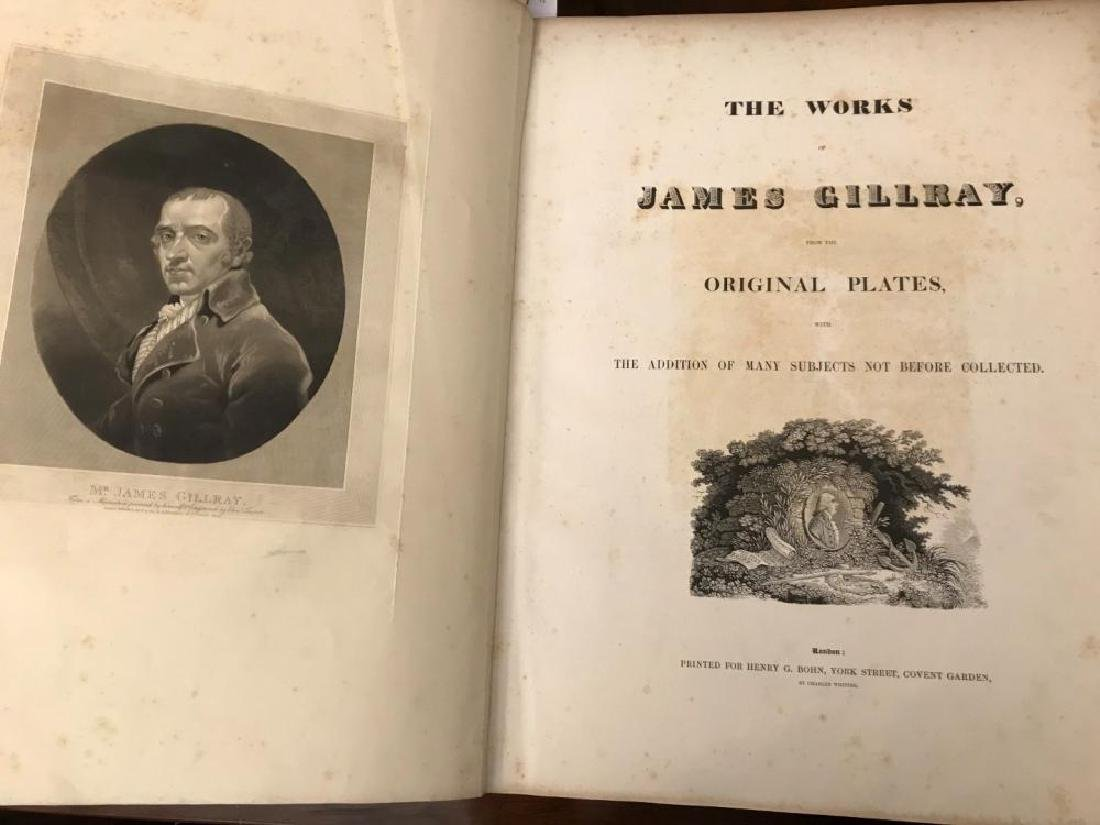 WHITING (John) The Works of James Gillray. London: for