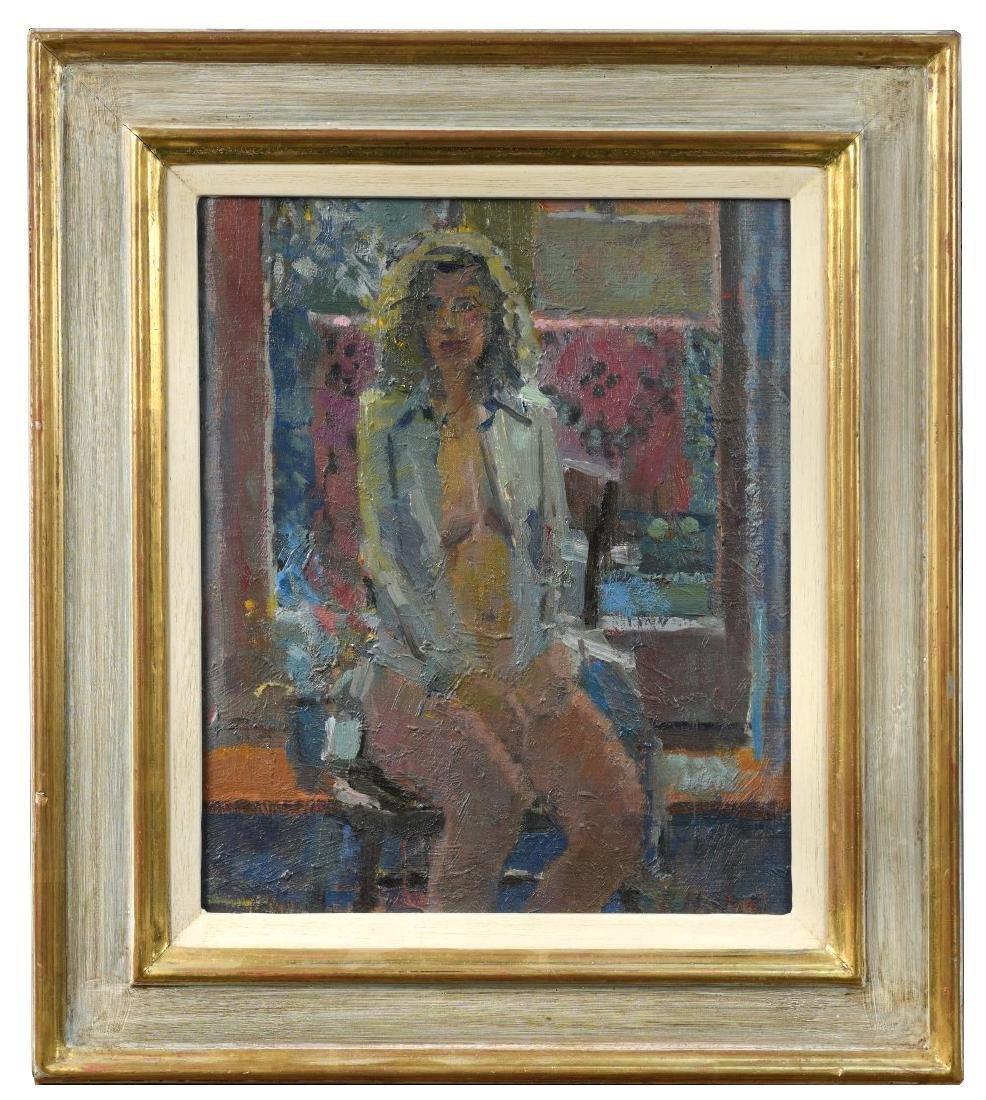 § Bo Hilton, NEAC (British, b. 1961) Sarah in