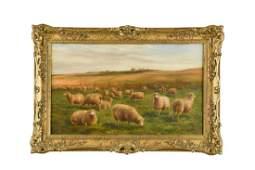 """Charles """"Sheep"""" Jones, RCA (British, 1836-1892) Sheep"""