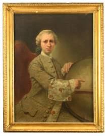 Marco Benefial (Italian, 1684-1764) Portrait of Edward