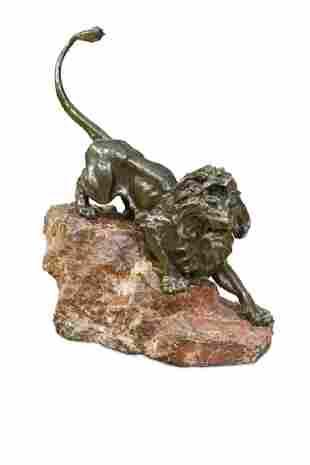 Giacomo Merculiano Italian 18591935 a bronze