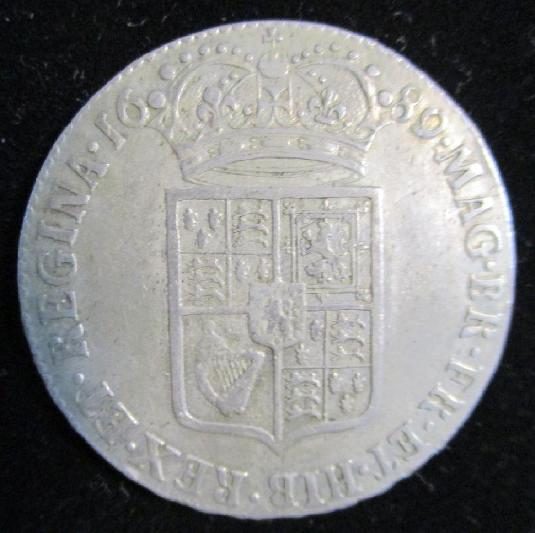 Great Britain half crowns: - 4