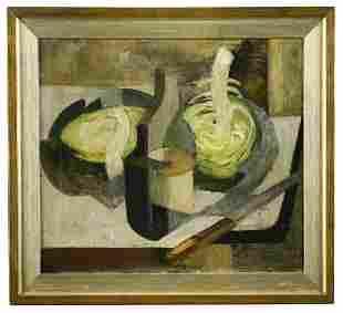 § Adrian Heath (British, 1920-1992) Still life with a