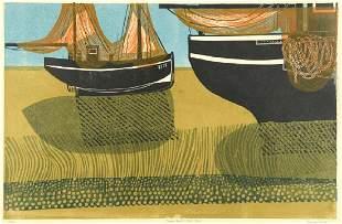 Robert Tavener British 19202004 Sussex Boats and