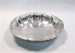 A Danish metalwares open vegetable dish