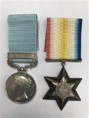 An Army of India 17991826 Medal with Bhurtpoor clasp