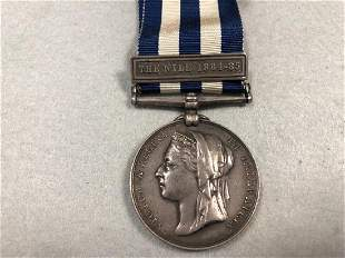 Victoria Egypt campaign medal with The Nile 18841885