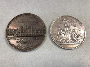 A bronze medal for the 1891 German Exhibition in