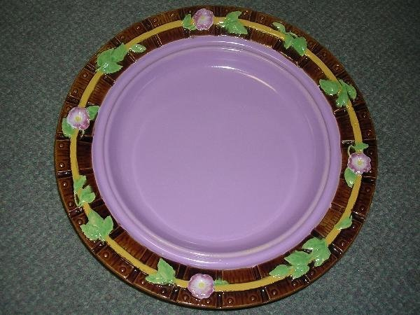 4: A GEORGE JONES MAJOLICA DISH