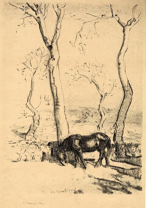 340: EDMUND BLAMPIED (BRITISH, 1886 - 1966)