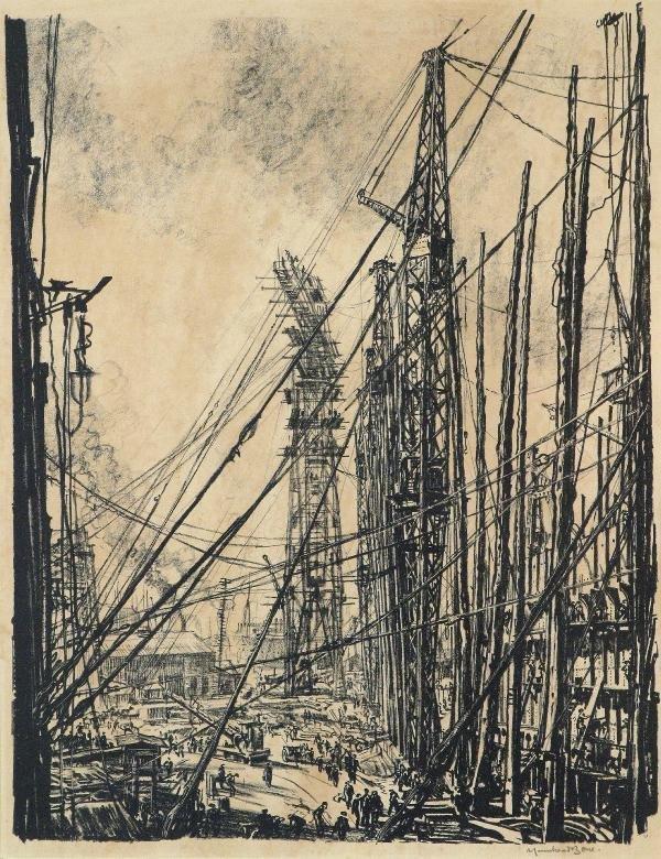 341: SIR MUIRHEAD BONE  (SCOTTISH, 1876 - 1953)