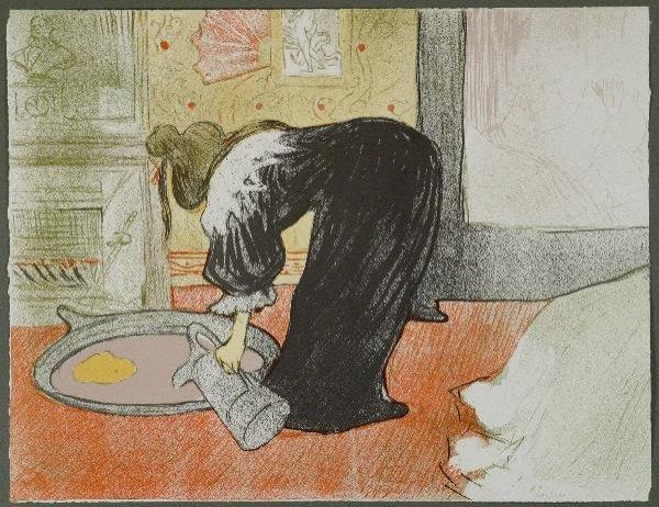 344: HENRI DE TOULOUSE-LAUTREC  (FRENCH,  1864-1901)