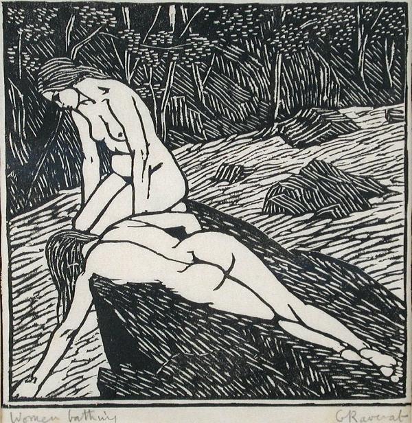 349: GWEN RAVERAT (BRITISH, 1885-1957)