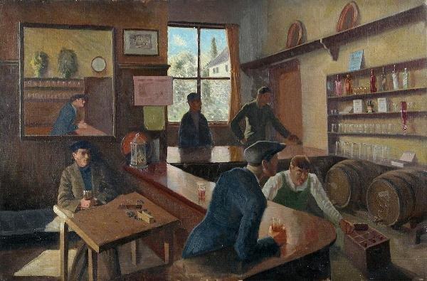 502: GEORGE GALSWORTHY PALMER, ARCA (BRITISH, 1913-1972