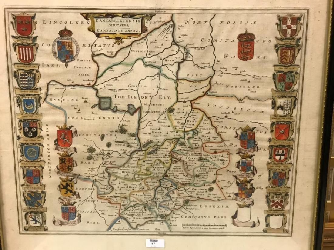 Joan Blaeu, Cambs map