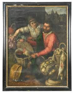 Huybrecht Beuckelaer (Flemish, c. 1535/40-1605/1624) A