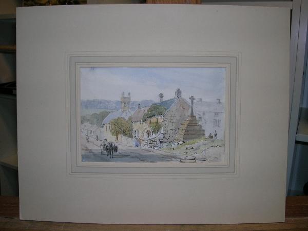 2005: ATTRIBUTED TO THOMAS CHURCHYARD (BRITISH, 1798-18
