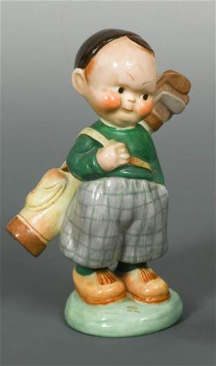A Shelley Mabel Lucie Atwell model of The Golfer