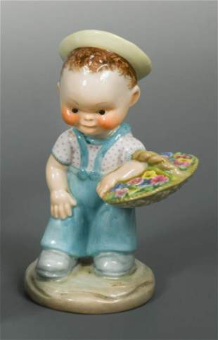 A rare Shelley Mabel Lucie Atwell model of The