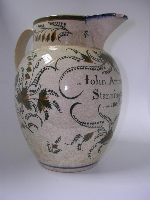 8: A 'JOHN ARMITAGE 1805' JUG