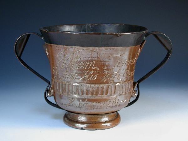 10: SALTGLAZE LOVING CUP 1761