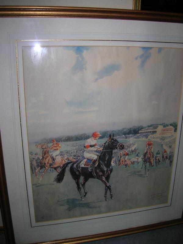 1032: AFTER LIONEL EDWARDS  TRUNDLE HILL, GOODWOOD