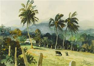 Leslie Arthur Wilcox RI RSMA British 19041982