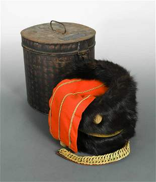 A collection of military and ceremonial uniform,