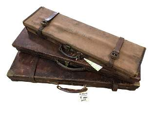 Stephen Grant & Joseph Lang, an oak and leather double