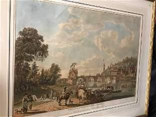 Paul Sandby South East View of Bridgenorth in