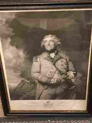 Three 18th century engraved portraits.