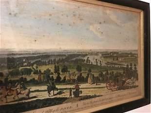 London, 18th century engraved views,