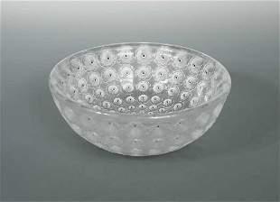 Nemours a Lalique glass bowl