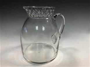 Cactus, an R. Lalique water jug,
