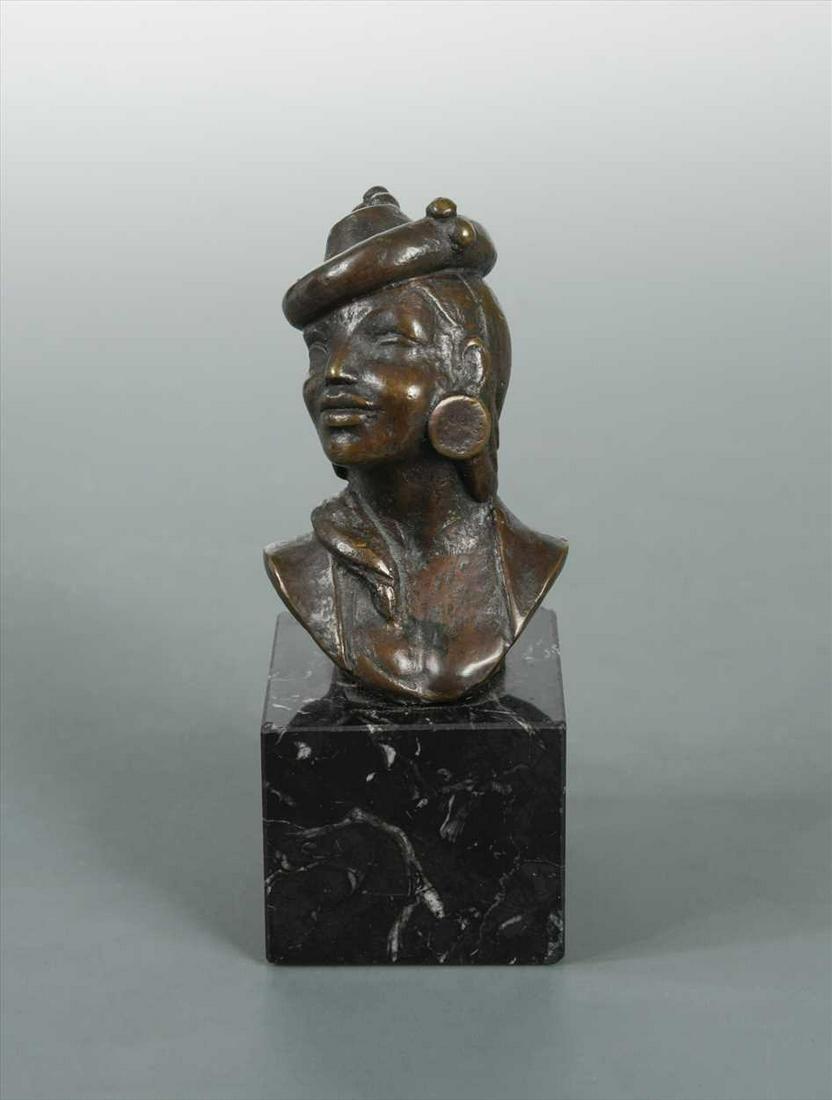 § Agusti Guasch Gomez, (Spanish, born 1913), a bronze