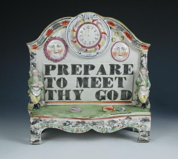 13: 'PREPARE TO MEET THY GOD', AN EARLY 19TH CENTURY