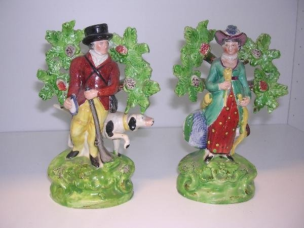 18: ATTRIBUTED TO SALT, A PAIR OF EARLY 19TH CENTURY