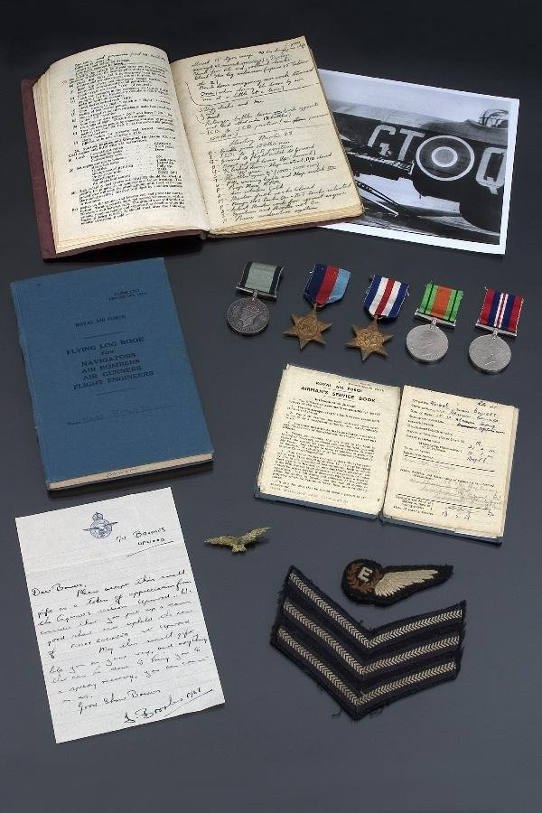 240: RAF CONSPICUOUS GALLANTRY MEDAL GROUP