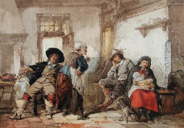 481: HERMAN FREDERIK CAREL TEN KATE (DUTCH, 1822-1891)