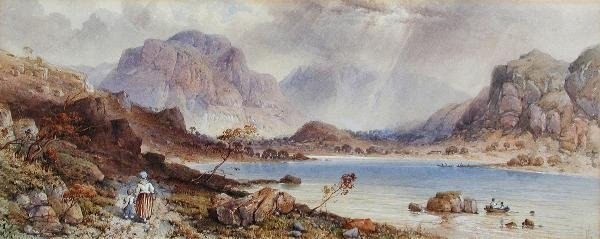 482: EDWIN A PENLEY (BRITISH, 1826-1893)
