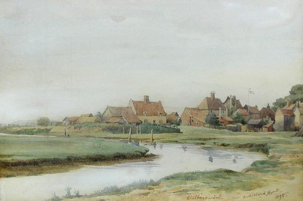 484: ARTHUR ACKLAND HUNT (BRITISH, 19TH CENTURY)
