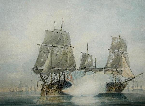 425: SAMUEL ATKINS (BRITISH, EXH.1787-1808)