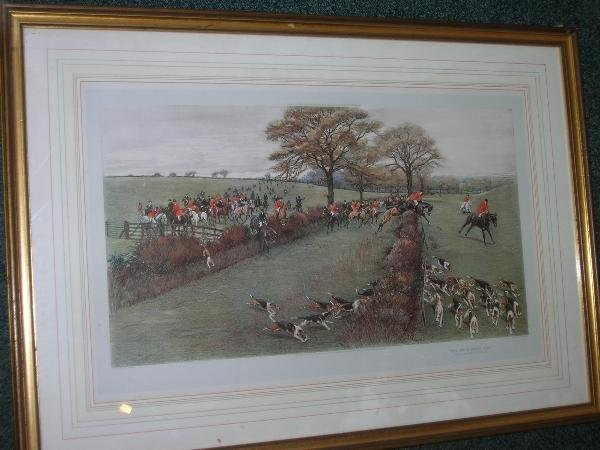1038: AFTER CECIL ALDIN  GARTH AND SOUTH BERKS HUNT 'AW
